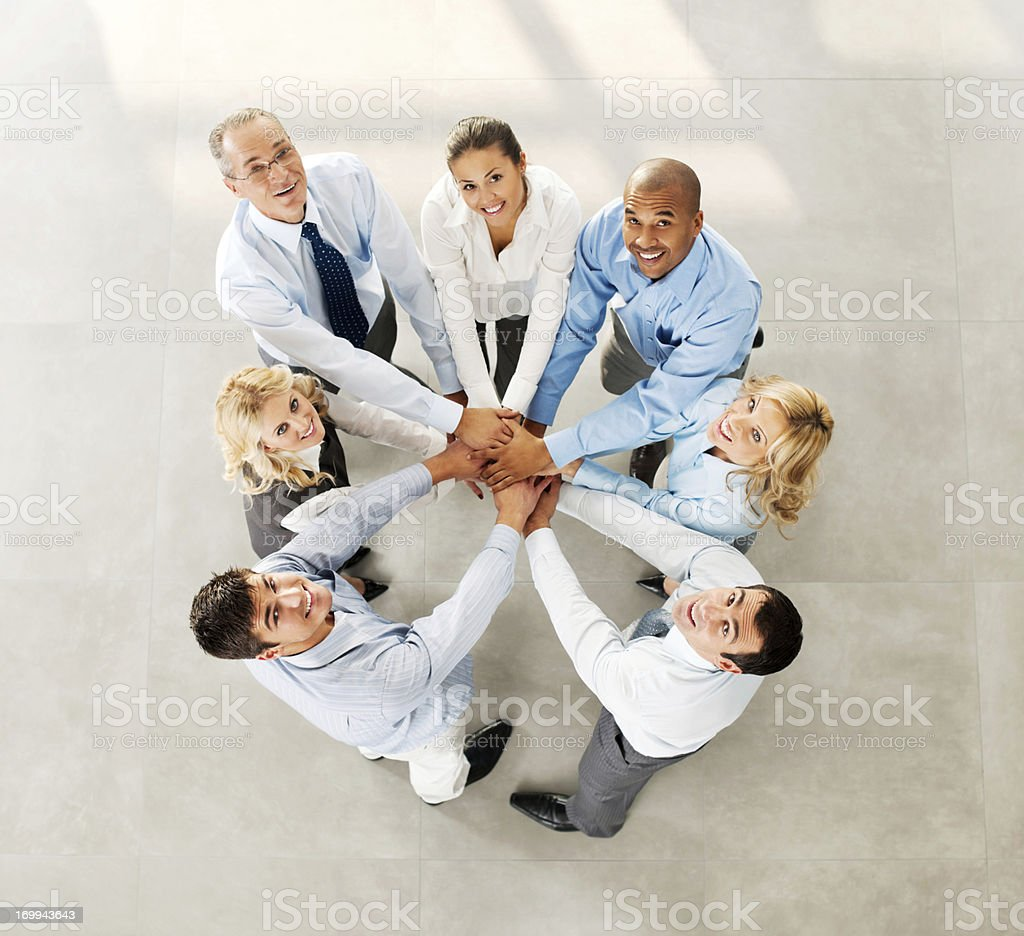 Teamwork. royalty-free stock photo