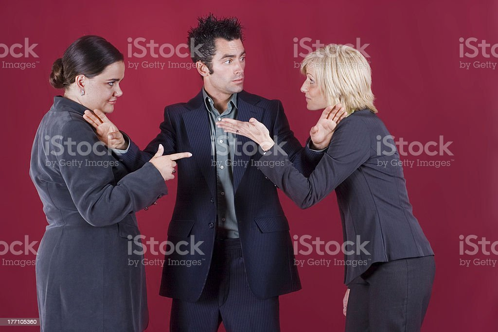 Teamwork? stock photo