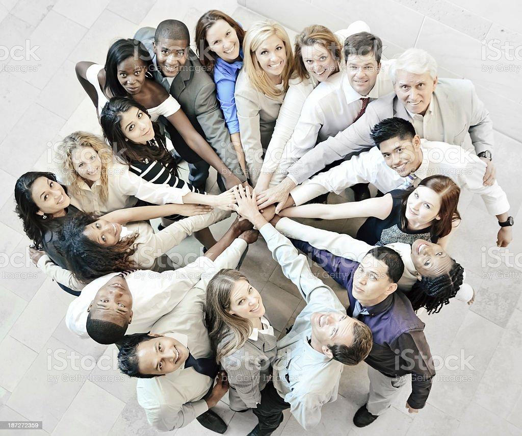 Teamwork. royalty-free stock photo