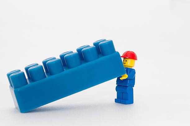 teamwork - lego stockfoto's en -beelden