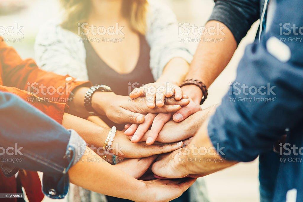 Teamwork (Teamarbeit) Lizenzfreies stock-foto