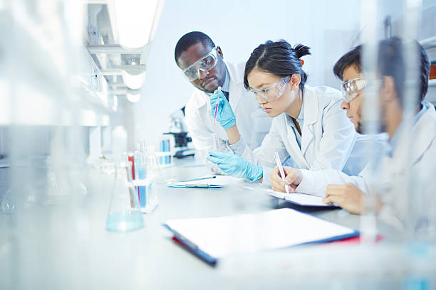 teamwork - medical research stock photos and pictures