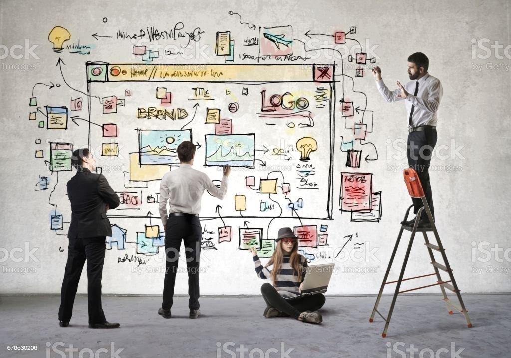 Teamwork - Foto stock royalty-free di Accudire