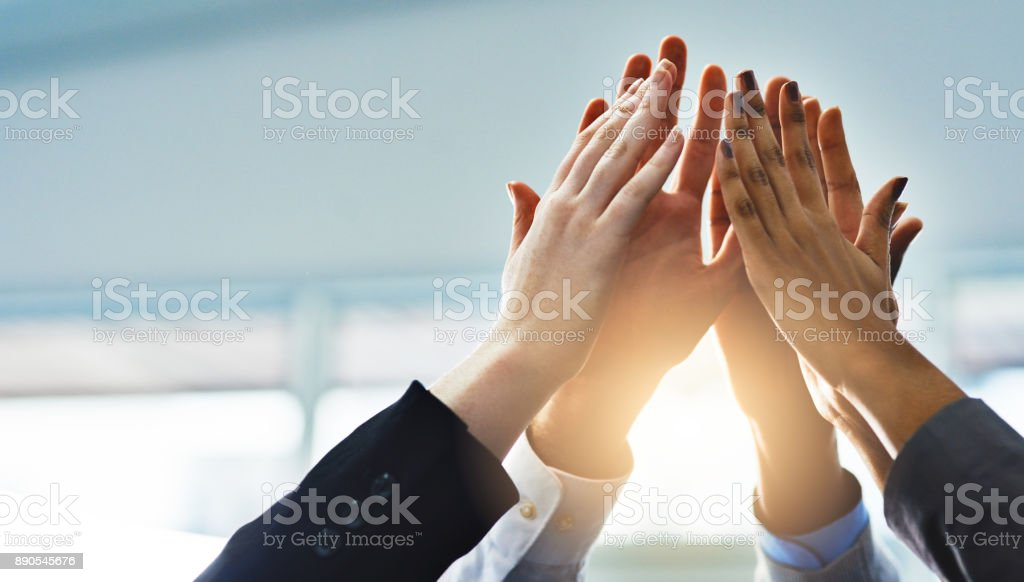 Teamwork! - foto stock