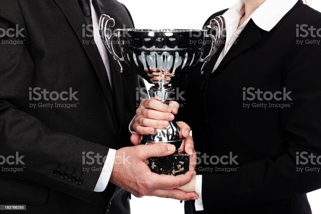 teamwork success royalty-free stock photo