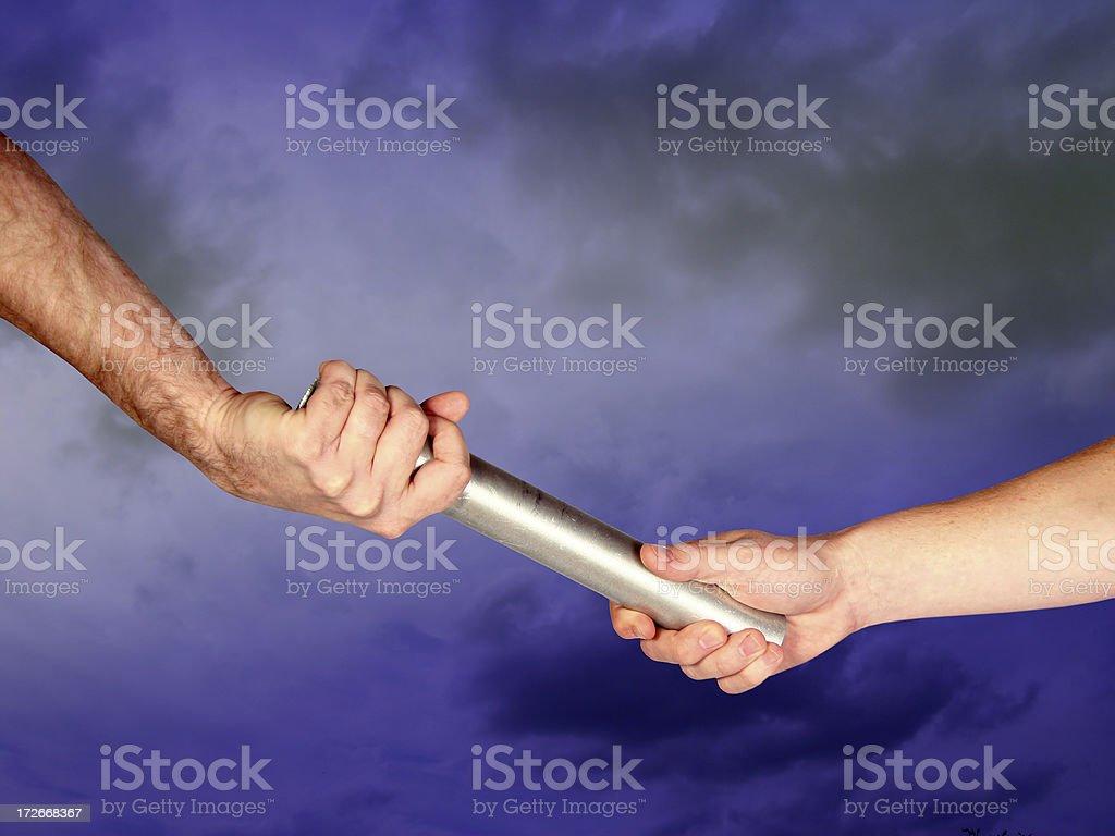 Teamwork V royalty-free stock photo