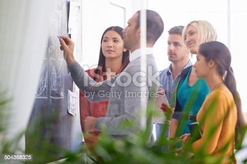 istock Teamwork will get them to their goal faster 504368325