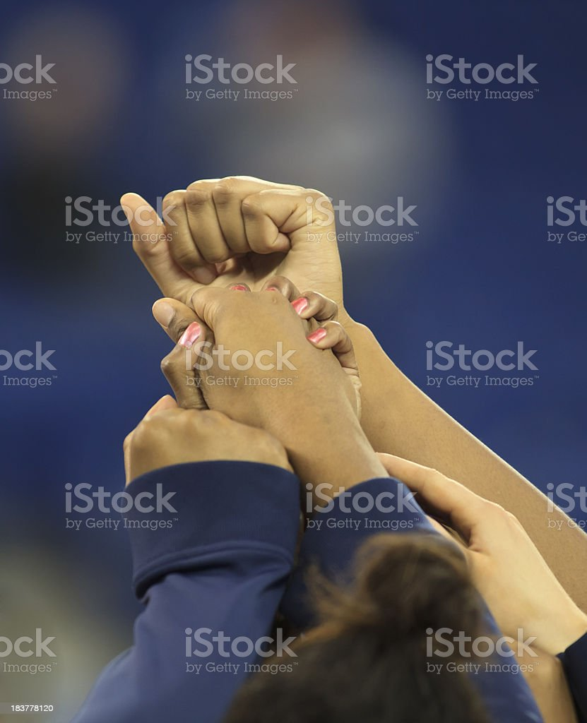 Teamwork Women royalty-free stock photo