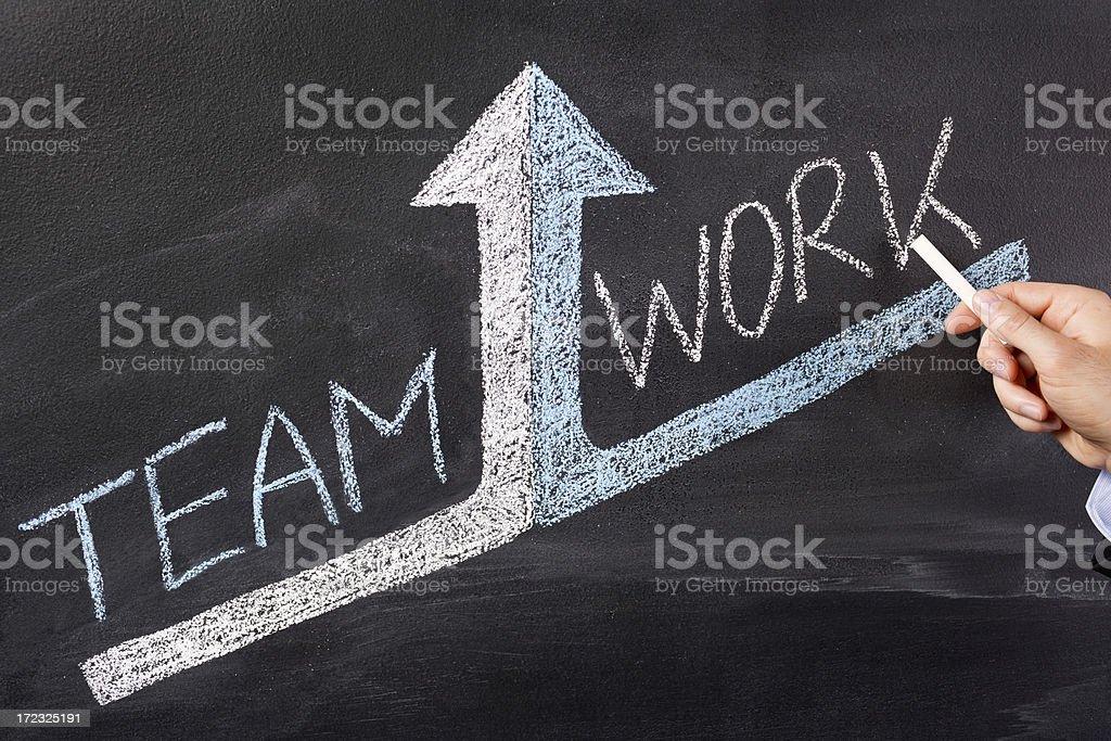 Teamwrok - Lizenzfrei Analysieren Stock-Foto
