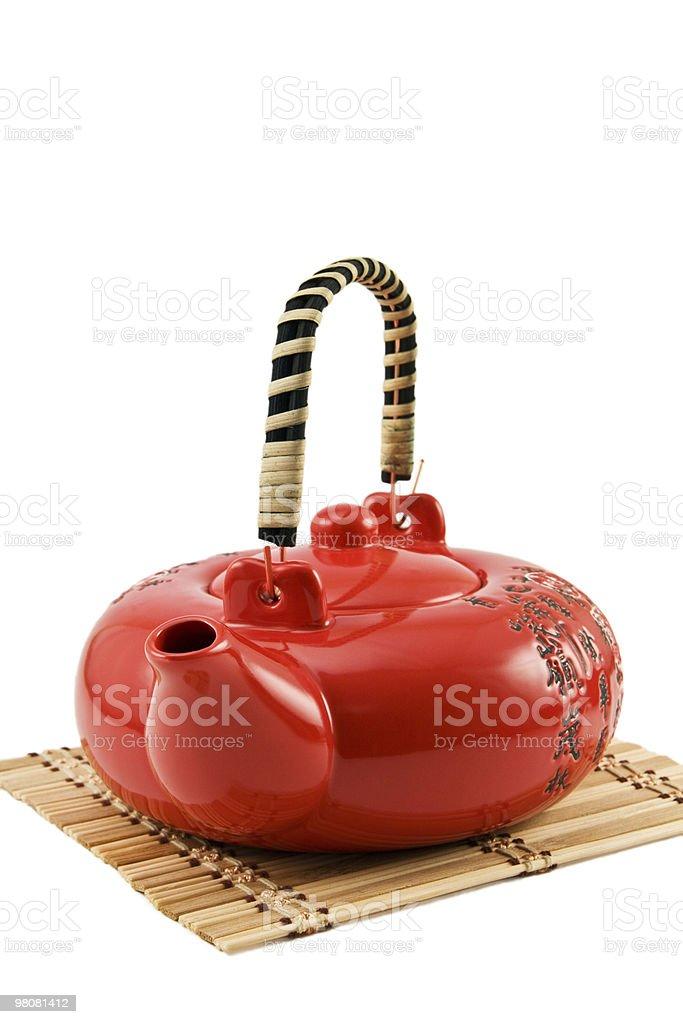 Teapot for tea ceremony royalty-free stock photo