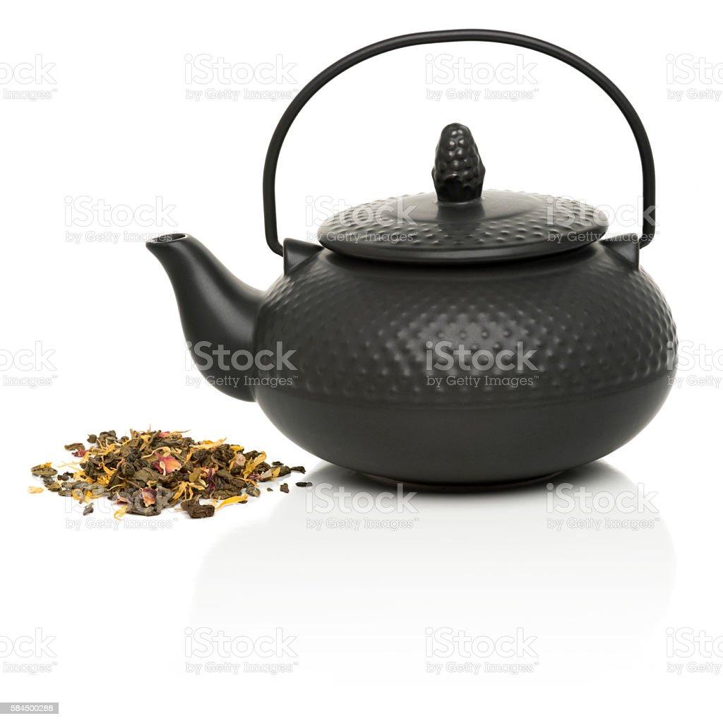 Teapot stock photo