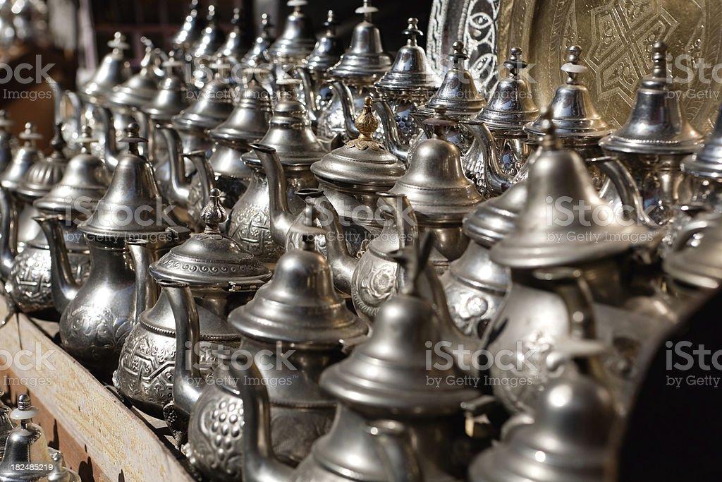 teapots royalty-free stock photo