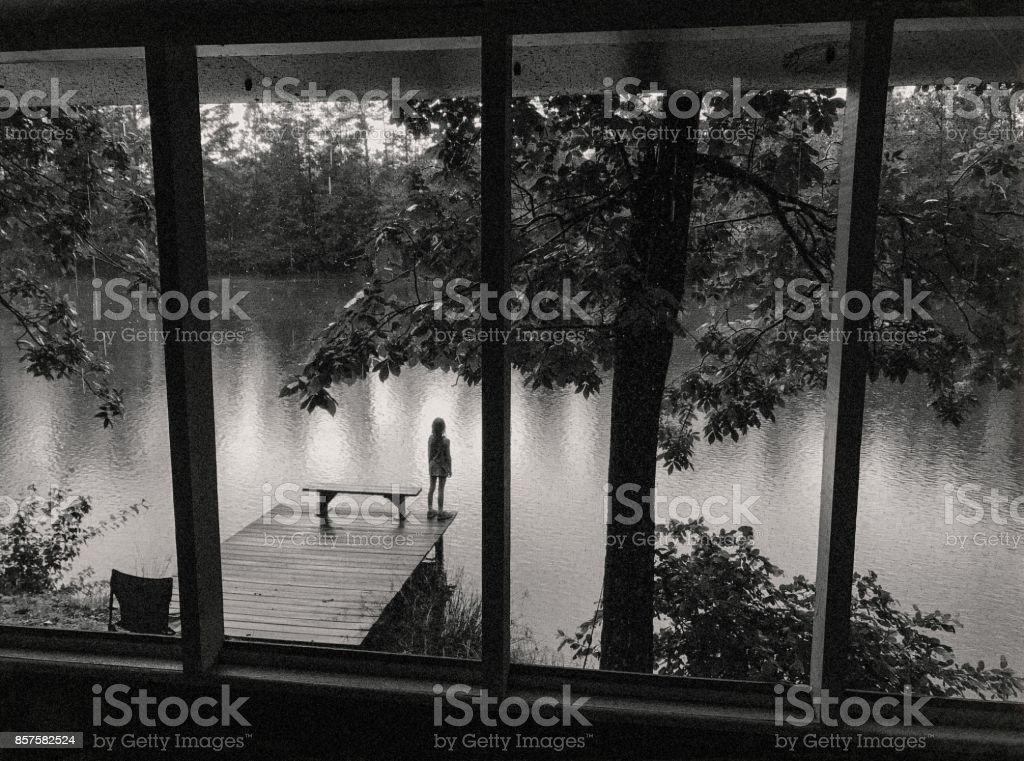 Tears In Rain stock photo