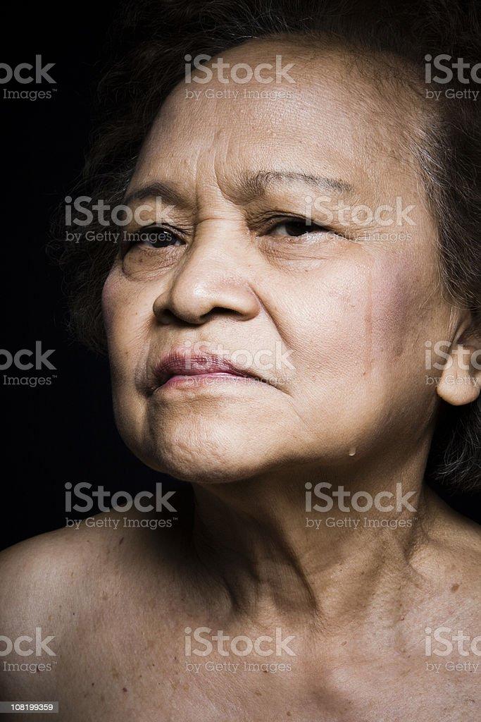 Tears royalty-free stock photo