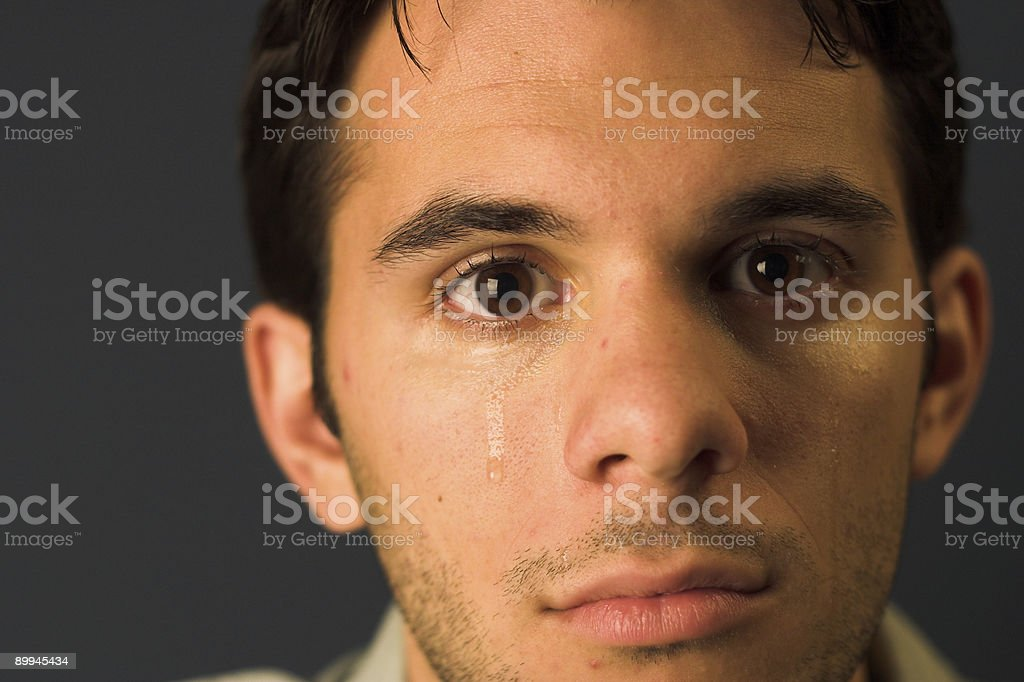Tears royalty-free stock photo