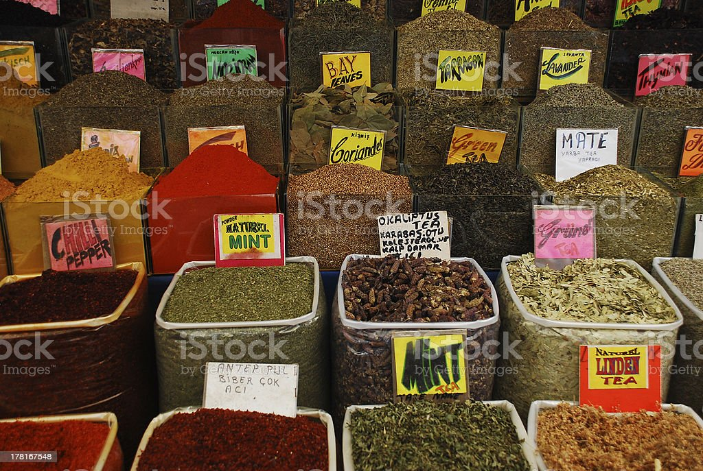 Teas and Spice, Everything Nice royalty-free stock photo