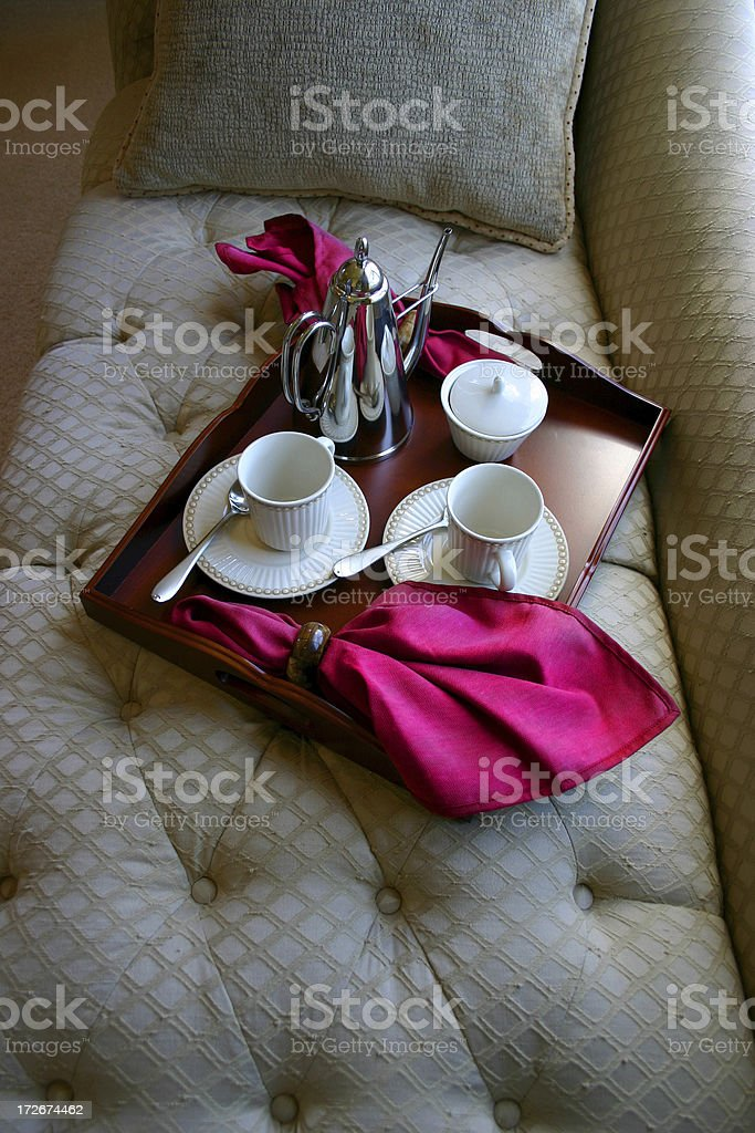 Teatime - Day Bed royalty-free stock photo