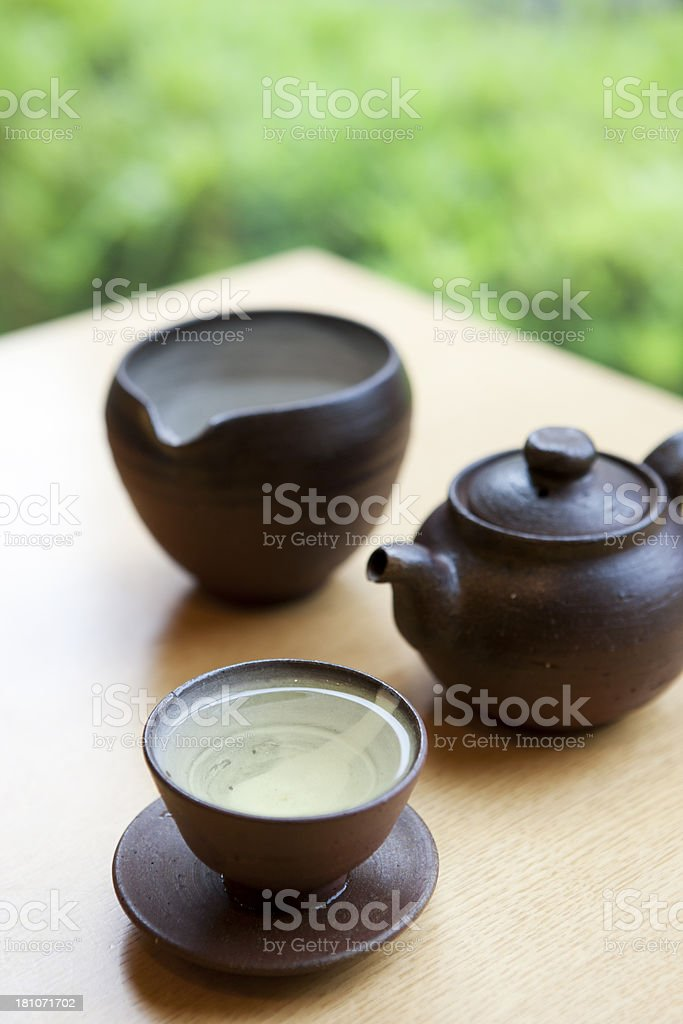 Teatime royalty-free stock photo