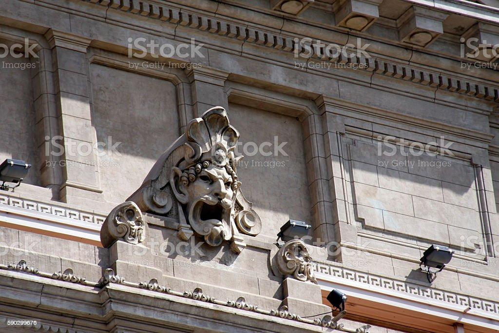 Театр Колон Стоковые фото Стоковая фотография