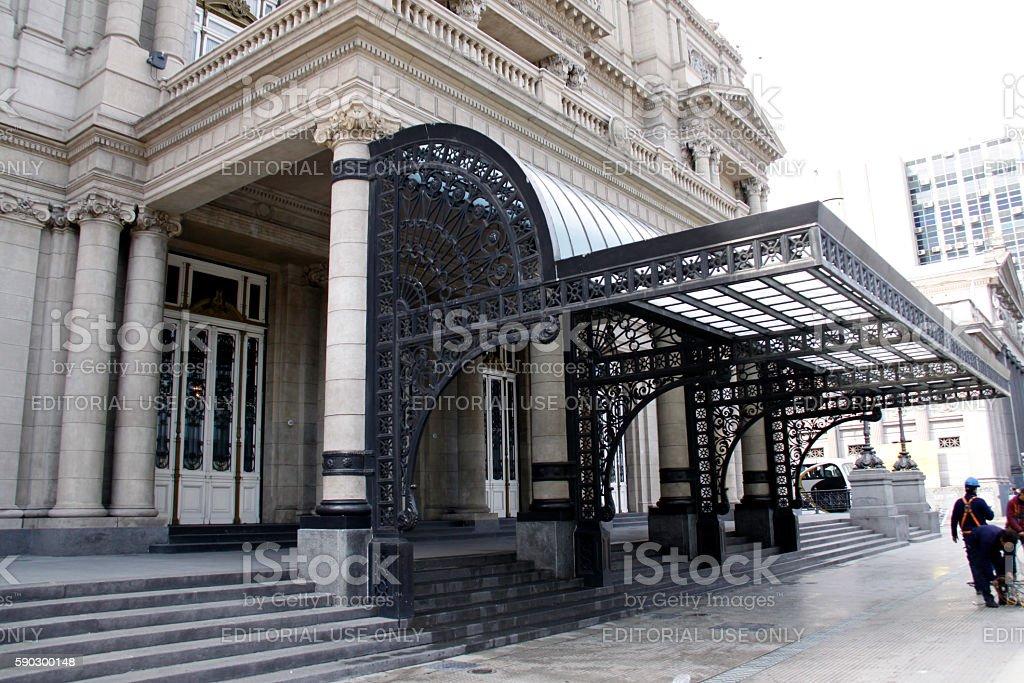 Teatro Colón royaltyfri bildbanksbilder