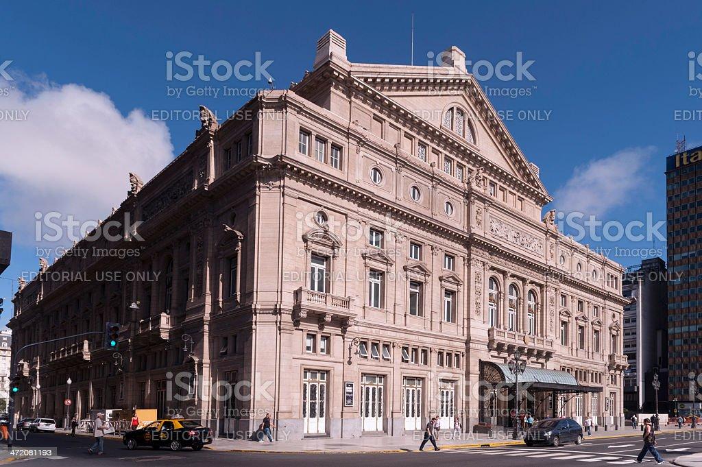 Teatro Colon royalty-free stock photo