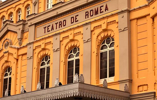 Teatro de Romea stock photo