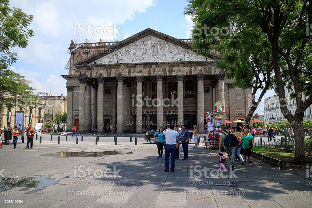 Teatro Degollado Guadalajara Jalisco Stockfoto Und Mehr Bilder Von