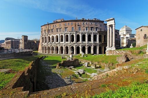 Teatro di Marcello. Theatre of Marcellus. Rome. Italy