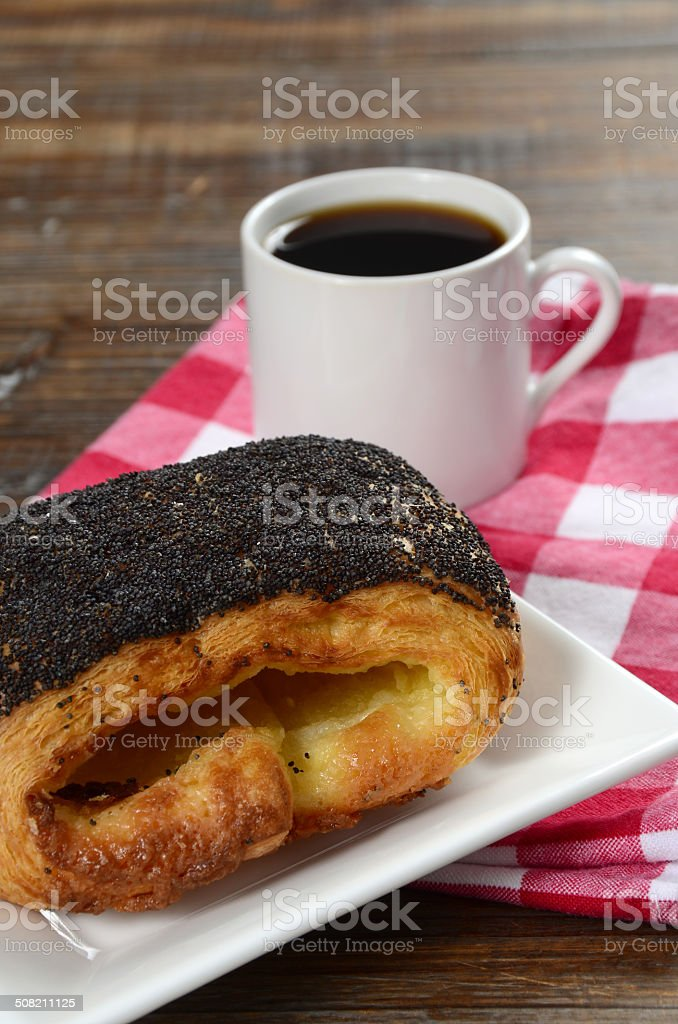 Tebirkes Danish Pastry royalty-free stock photo