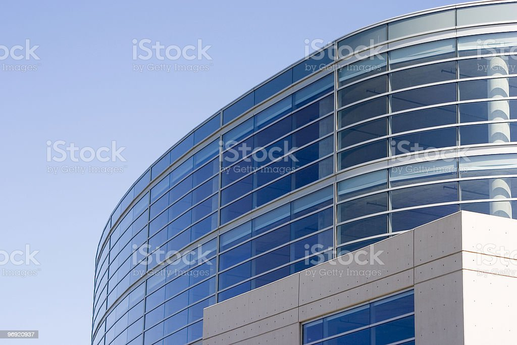 Tech Building 2 royalty-free stock photo