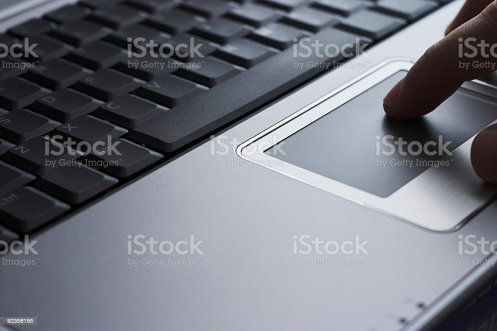 Tech - Keyboard and Touchpad royalty-free stock photo