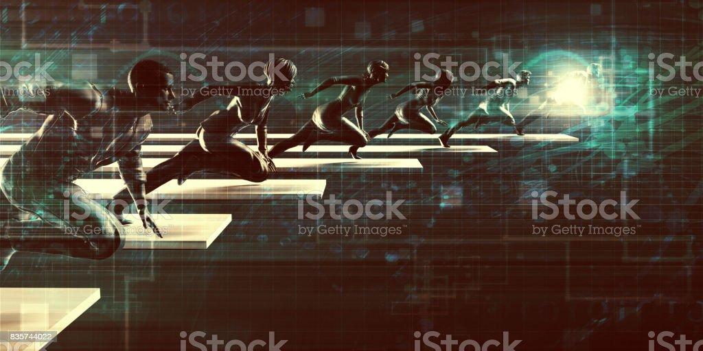Tech Startup stock photo