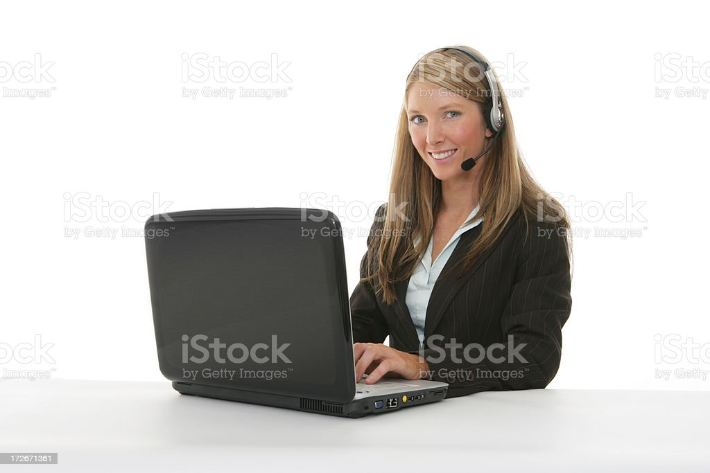 Tech Support royalty-free stock photo