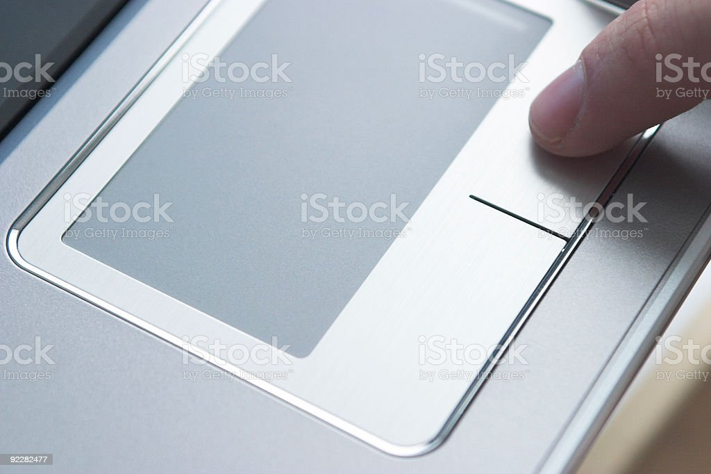 Tech - Touchpad royalty-free stock photo