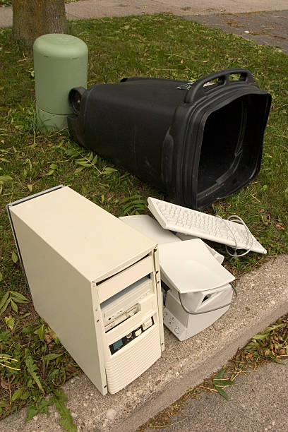 Tech  Waste stock photo