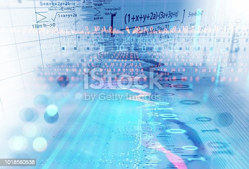 istock technical financial graph on technology abstract background 1018560538