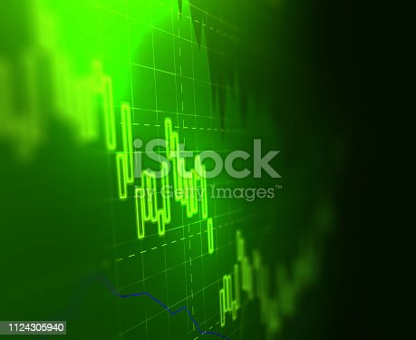 istock technical financial graph on technology abstract background 1124305940