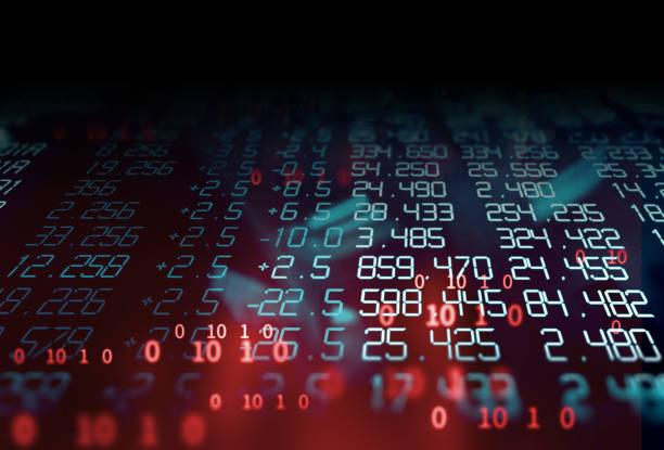 technische finanzielle Grafik Technologie abstrakten Hintergrund – Foto