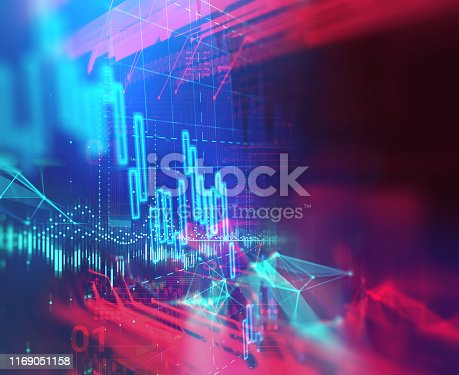 926051128istockphoto technical financial graph on technology abstract background 1169051158