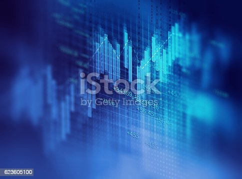 istock technical financial graph on technology abstract background 623605100