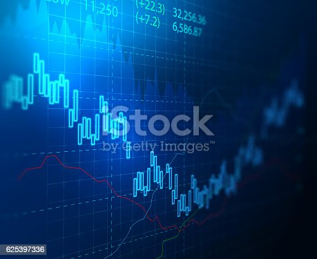 istock technical financial graph on technology abstract background 625397336
