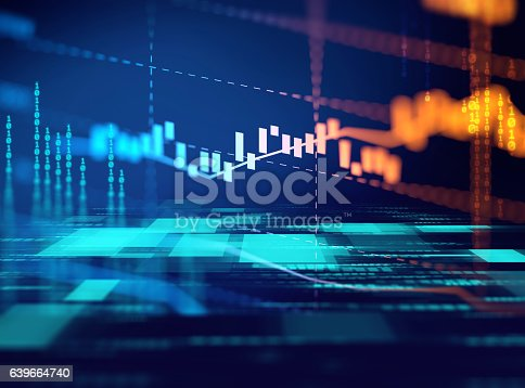 istock technical financial graph on technology abstract background 639664740