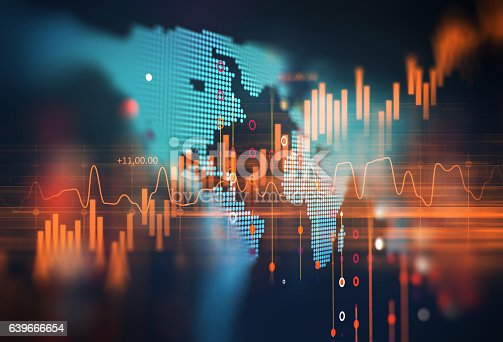 639666654 istock photo technical financial graph on technology abstract background 639666654