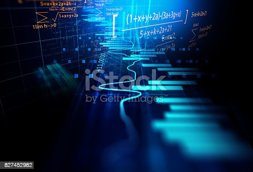 istock technical financial graph on technology abstract background 827452982
