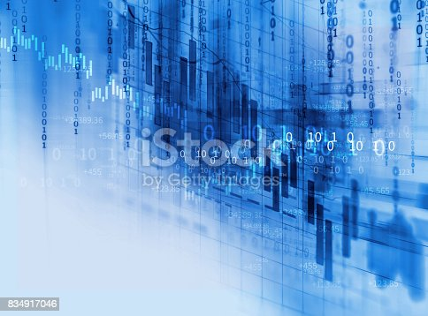 868363098 istock photo technical financial graph on technology abstract background 834917046