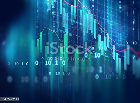868363098 istock photo technical financial graph on technology abstract background 847523290