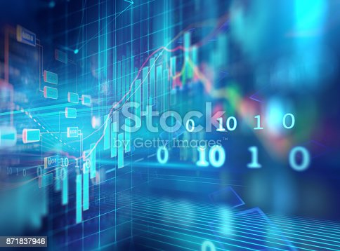 istock technical financial graph on technology abstract background 871837946