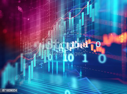 868363098 istock photo technical financial graph on technology abstract background 871839024
