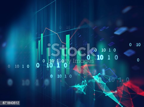 868363098 istock photo technical financial graph on technology abstract background 871840512