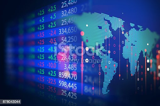 istock technical financial graph on technology abstract background 878043044